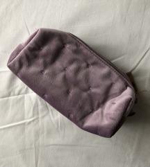 Ljubičasta kozmetička torbica / pernica, nova