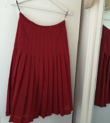 Jesenska vintage suknja