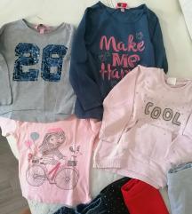 Lot odjeće 98/104 za djevojčice