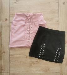Suede suknje, New