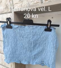 Terranova plavi top