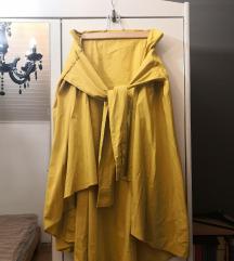 Zara žuta suknja