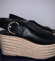 Zara platforma sandale 40