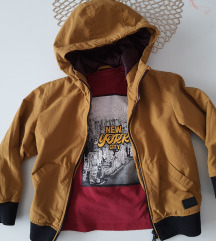 zara jakna i mango majica