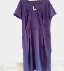 Formalna ljubičasta haljina