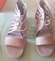 Prava koza sandale