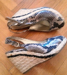 Sandale piton uzorka