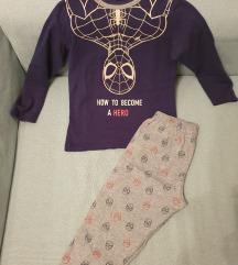 Zara pidžama, Spiderman, svijetli u mraku