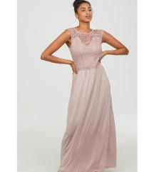 H&M duga haljina, nova s etiketom, Tisak uključen