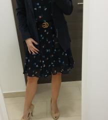 Cvjetna haljina Vero Moda i blazer cijena lotNOVO
