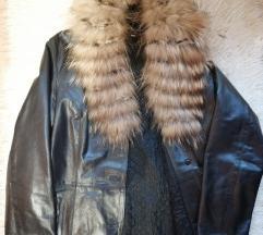 Vera Pelle kožna jakna s krznom