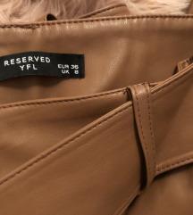Reserved kožne hlače