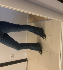 %Zara flare jeans traperice trapez