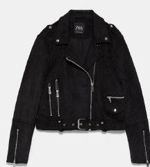 Zara brušena koža nova jakna