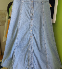 Zara jeans suknja