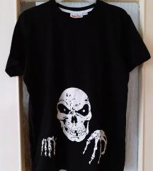 Glow in the dark skeleton majica, Halloween