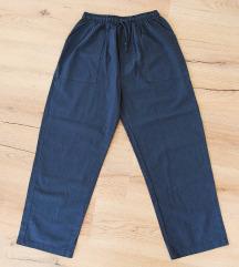 Široke pamučne hlače