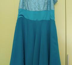 Plava haljina i bolero