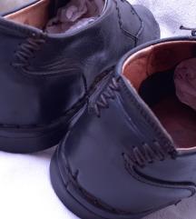 KARIBE crne cipele od prave kože