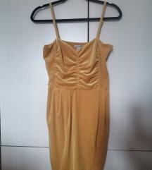 Pliš haljina 38