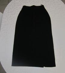 Crna suknja pencil kroja