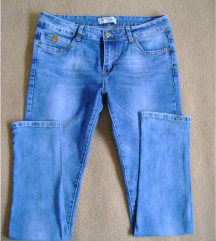 Plave traperice tvornički isprane