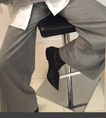 Zara sive široke hlače