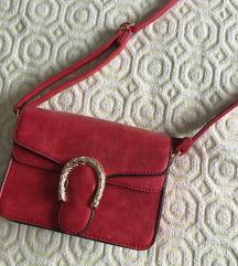SNIZENJE % NOVA Crvena kožna torbica ❤️
