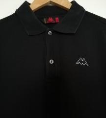 Muška crna polo majica, original KAPPA, br L