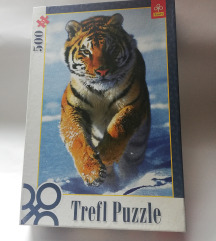 Trefl puzzle tigar
