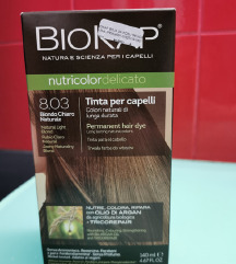 Biokap svijetlo plava boja za kosu 8.03
