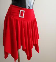 NOVA crvena sexy suknja S/M sada 65kn %% na sve