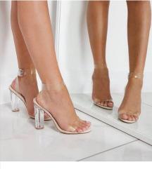 Perspex sandale