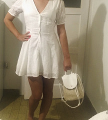 Ljetna bijela haljina 36🥰