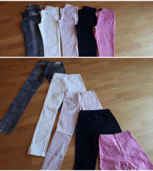 Lot - 5 hlača (H&m,Tally W.,Tom Tailor...) vel S.