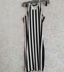 Prugasta haljina/tunika..vel.XS-manji S