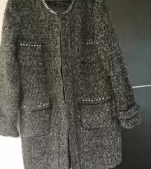 Zimski kaput crno sivi 🧥
