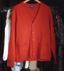 Narančasta vesta od 100% vune
