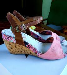 S oliver kožne sandale