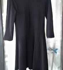 Tunika haljina sa kožnim obrubima