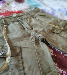 Maslinatozelene boyfriend hlače