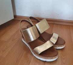 Zlatne Mass sandale SNIŽENO