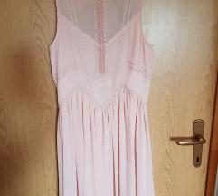 Nude pink haljina