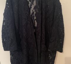 Zara oversized blazer čipka