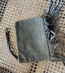 Pepe Jeans maslinasto zelena mala torbica