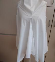 Bijela asimetrična tunika