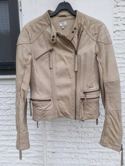 Pepe Jeans kožnata jakna