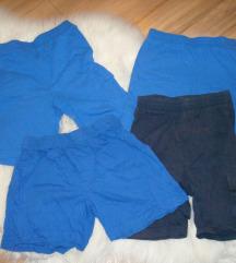 Kratke hlače za dječake 98 lot
