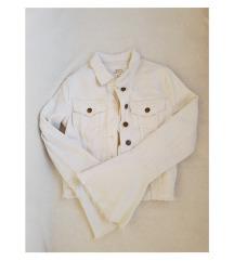 H&M bijela traper jakna