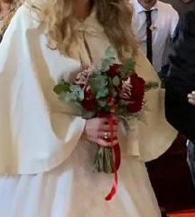 vjenčani pončo, pelerina